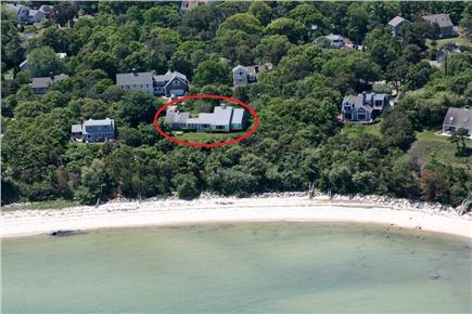 Brewster Cape Cod vacation rental - Ariel View