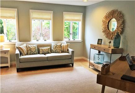 East Orleans Cape Cod vacation rental - Queen air matress sleeper, Office with Half Bath on Ground Floor