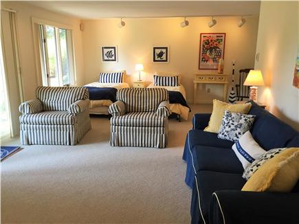 East Orleans Cape Cod vacation rental - Two Trundles plus Queen Sleeper; Flat Screen TV and views