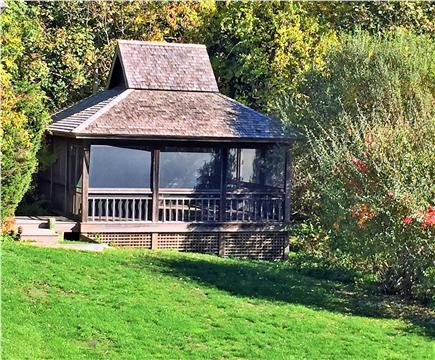 East Orleans Cape Cod vacation rental - Screened Gazebo on property