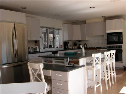 East Orleans Cape Cod vacation rental - Gourmet Eat In Kitchen with table for six and counter for three