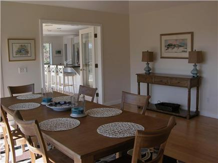 East Orleans Cape Cod vacation rental - Dining Room seats 10 comfortably