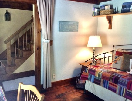Sandwich Cape Cod vacation rental - 1st floor den with trundle bed & work space