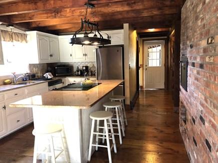 Sandwich Cape Cod vacation rental - Kitchen- quartz countertops & stainless appliances