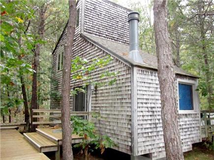 Wellfleet Cape Cod vacation rental - Front Deck Entrance