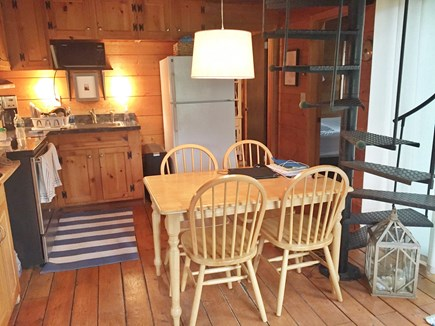Wellfleet Cape Cod vacation rental - Eat-in Kitchen
