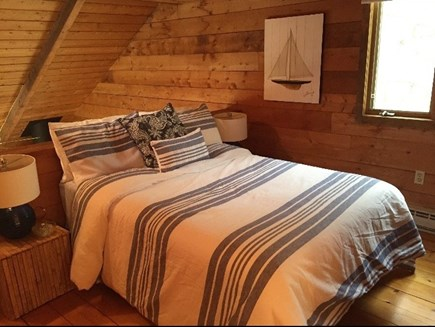 Wellfleet Cape Cod vacation rental - Second bedroom with double bed in Loft