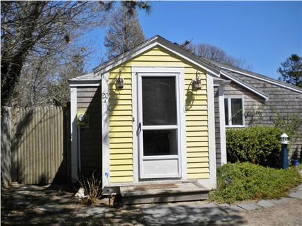 Dennis Port Cape Cod vacation rental - The entrance to Quaint Cottage ...