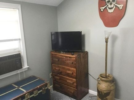 Dennis Port Cape Cod vacation rental - Spare room with A/C and smart TV. Pic. 2 of 2