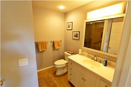 East Orleans Cape Cod vacation rental - Main level bathroom (walk in shower)