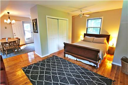 East Orleans Cape Cod vacation rental - Studio Apt living area w flat screen tv, and eat in kitchenette