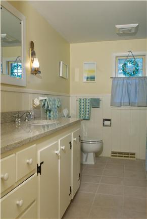 East Dennis Cape Cod vacation rental - Large bathroom with tub