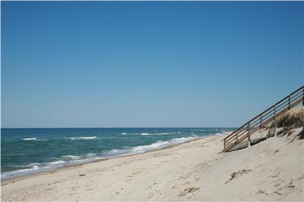 East Dennis Cape Cod vacation rental - Sea Street Beach in East Dennis just a mile & 1/2 away