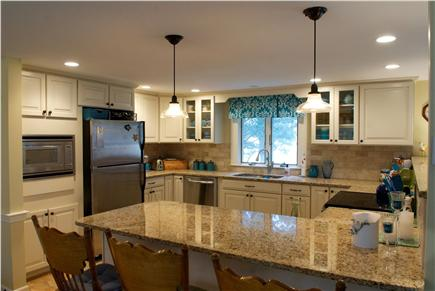 East Dennis Cape Cod vacation rental - New  open kitchen with eating counter