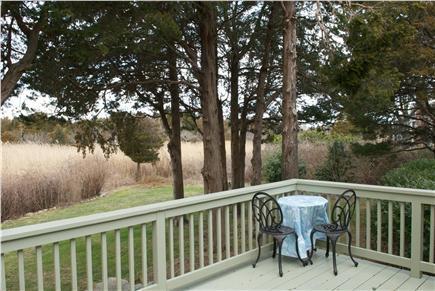 East Dennis Cape Cod vacation rental - Deck overlooking marsh grasses