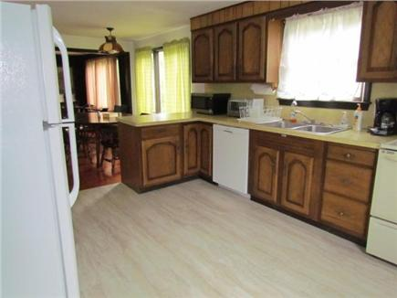 Eastham Cape Cod vacation rental - Kitchen w/ recently installed Floor, Dishwasher and Refrigerator