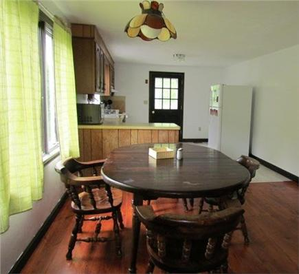 Eastham Cape Cod vacation rental - Dining Area has table for six and refinished pine floor
