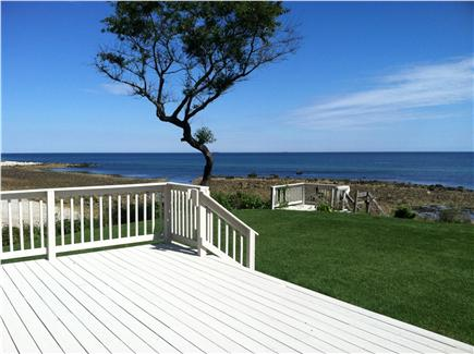 Plymouth MA vacation rental - Direct ocean front and stairs to private beach