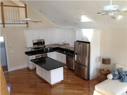 Harwich Port Cape Cod vacation rental - Kitchen Custom Cabinets - Stainless Appliances