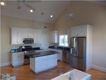 Harwich Port Cape Cod vacation rental - Kitchen with custom cabinets