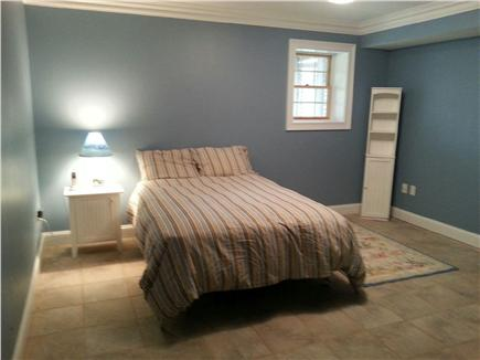 Yarmouth Port Cape Cod vacation rental - Basement Bedroom with Queen bed and Ensuite