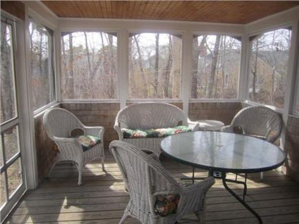 Harwich Cape Cod vacation rental - Screened Sunroom