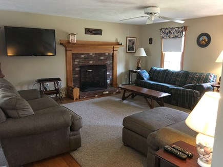 Harwich Cape Cod vacation rental - Spacious Living Room with Flat screen