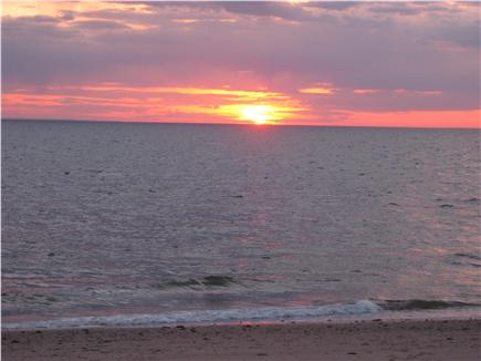 No. Eastham Cape Cod vacation rental - Sunset at Cooks Brook Beach