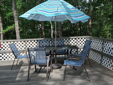 No. Eastham Cape Cod vacation rental - Wrap Around Deck with Large Yard