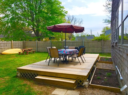 Dennisport Cape Cod vacation rental - Patio, yard and garden are ready for you to enjoy!