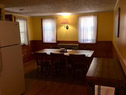 Dennisport Cape Cod vacation rental - Kitchen Dining Area