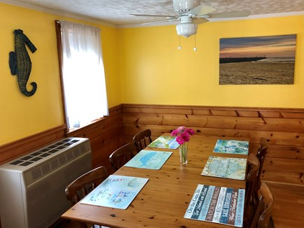 Dennisport Cape Cod vacation rental - Kitchen dining table