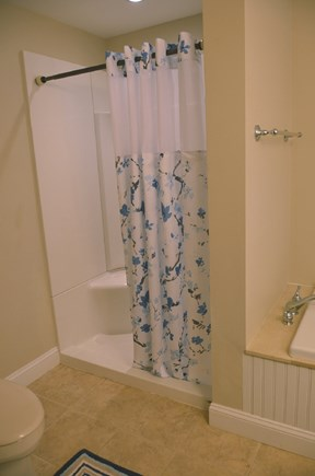 South Yarmouth Cape Cod vacation rental - Bath with walk in shower