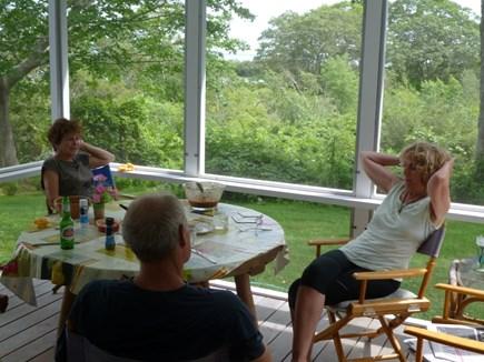 Falmouth, Quissett Cape Cod vacation rental - Screen porch