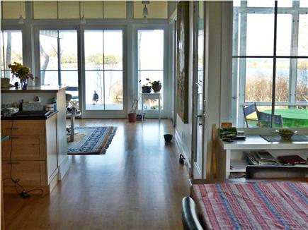 Falmouth, Quissett Cape Cod vacation rental - From Dining Room to Living Room