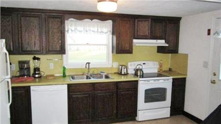 North Eastham Cape Cod vacation rental - Kitchen with glass-top stove, dishwasher, microwave, etc.