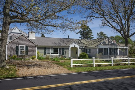 West Harwich Cape Cod vacation rental - Quintessential Cape Cod home; view of front of home.