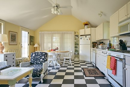 West Harwich Cape Cod vacation rental - Bright, open kitchen w/seating & dining areas; opens to fr. porch