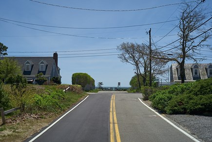 West Harwich Cape Cod vacation rental - Road 300 ft. leads to Grey Neck Beach, beautiful Shore Road walk.
