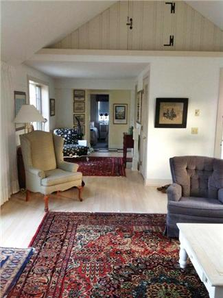 West Harwich Cape Cod vacation rental - Spacious hallway leads to kitchen and sm. front bedrm/bathrm