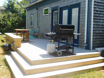 Hyannis Cape Cod vacation rental - Deck with grill