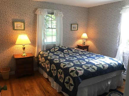 East Dennis Cape Cod vacation rental - Downstairs bedroom 1 with queen bed