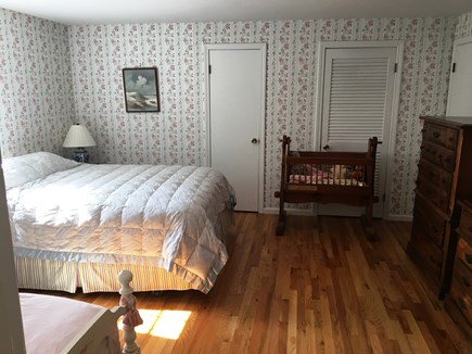 East Dennis Cape Cod vacation rental - Upstairs bedroom 2 with queen and twin beds