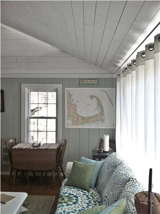 Chatham Cape Cod vacation rental - Living room and drop leaf dining table.