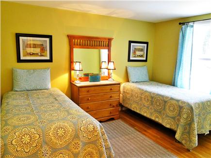 East Harwich Cape Cod vacation rental - Twin bedroom with own half bath