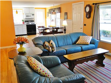 East Harwich Cape Cod vacation rental - View of living room from sun room