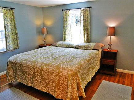 East Harwich Cape Cod vacation rental - Master bedrooom, wood floors
