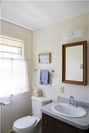 Brewster Cape Cod vacation rental - Master bath (with shower to right of sink)