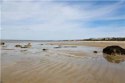 Brewster Cape Cod vacation rental - Point of Rocks beach at half tide - great for exploring