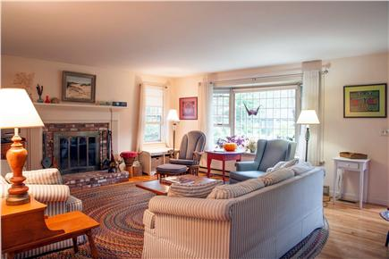 Brewster Cape Cod vacation rental - Comfortable and spacious living room